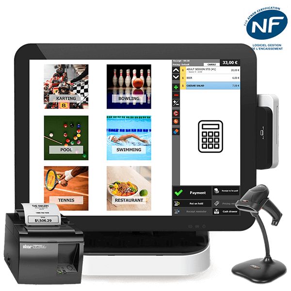 Thanks to the Apex Timing software solution, fully manage your leisure activity, from members management to bookkeeping. Point of sale, accounting, marketing, online booking, mobile application are fully integrated features.